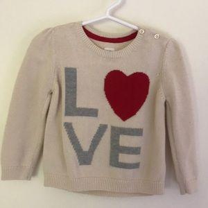 GAP Love ❤️ sweater